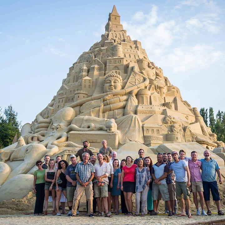 Tallest Sandcastle