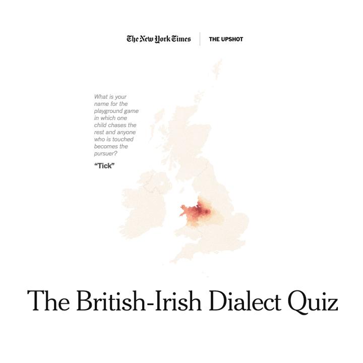 British-Irish Dialect Quiz