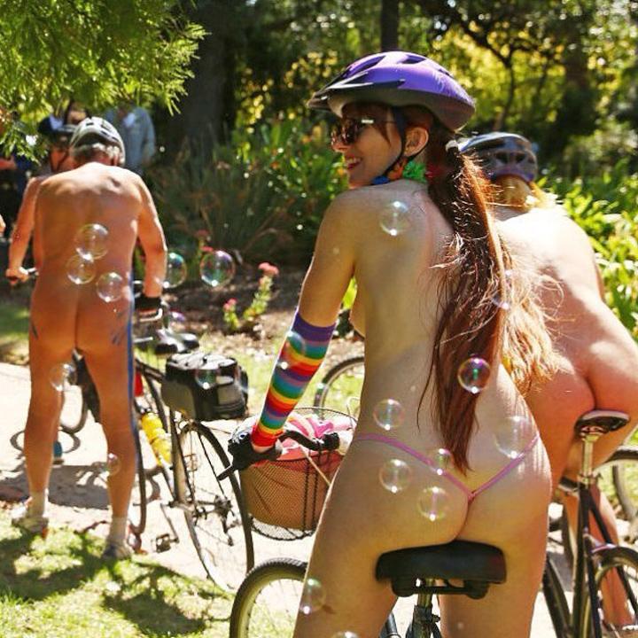 world naked bikeride