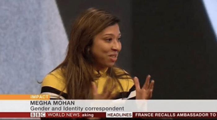 Megha Mohan on the BBC