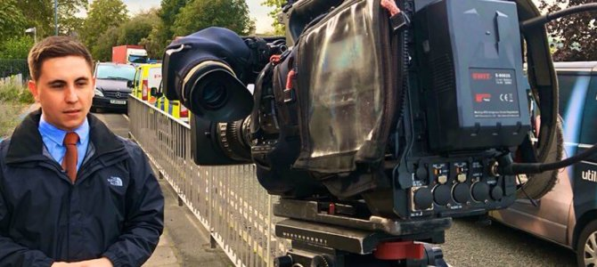 A Day In The Life Of… Lewis Warner, Reporter at ITV News Border