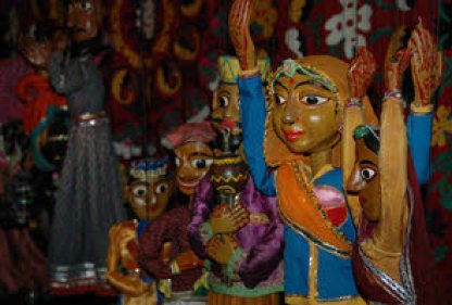 Puppets from Rajasthan live and entertain in Geneva