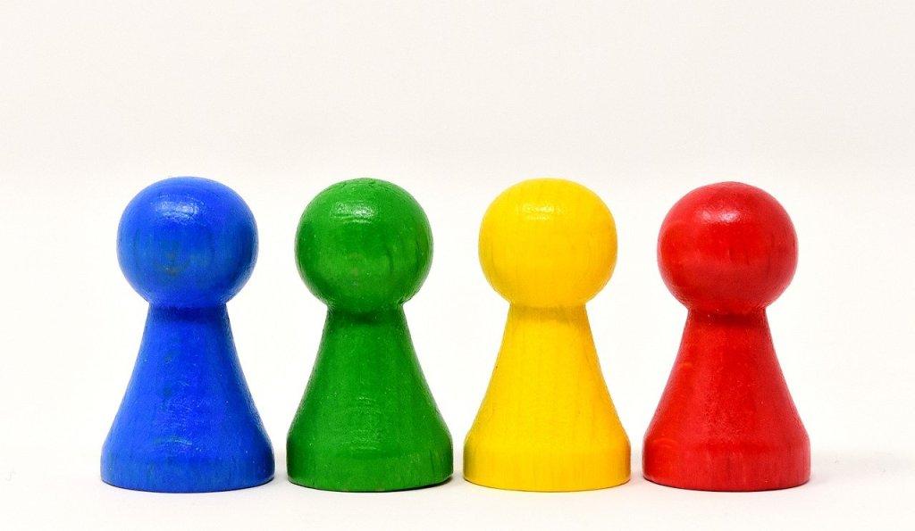 disc 4colors, Paraplui couleurs - différents profils des e-consommateurs