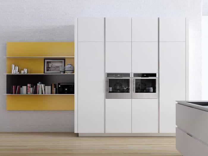 Presentatie nieuwe kleuren van de Snaidero Orange keuken 2010