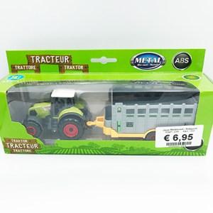 Tractor met wagen
