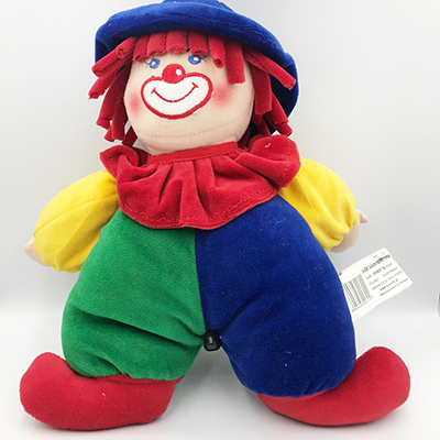Clown met muziekdoosje
