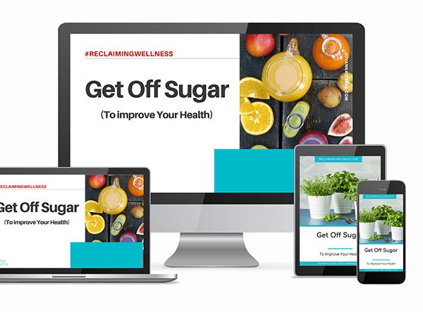 Get Off Sugar  Image of get off sugar program