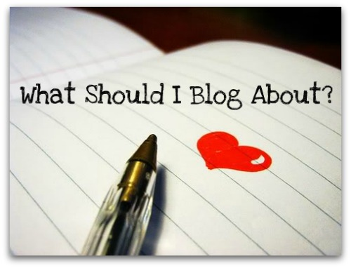 What Should I blog today?
