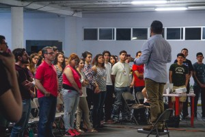 Pastor Uriel Pérez Predicando