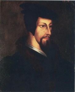 Joven Juan Calvino, autor desconocido