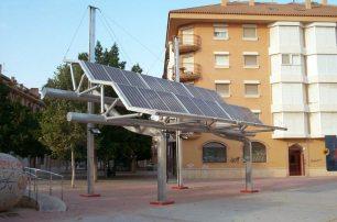 Soporte pergola fotovoltaica - Museo Ciencia (Murcia)