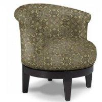 "Best ""Attica"" Swivel Barrel Chair (Custom Fabrics ..."