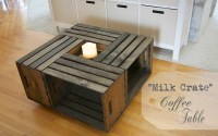 Crates Coffee Table - Home Design