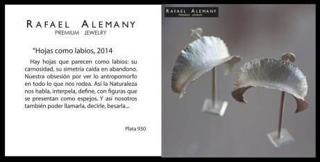 Rafael Alemany Premium Jewelry - Hojas como labios