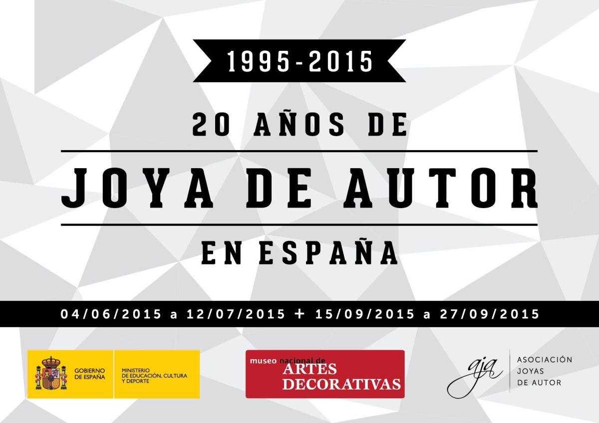 06586262edcc Exposición «20 Años de Joya de Autor en España» – Asociacion Joyas de Autor