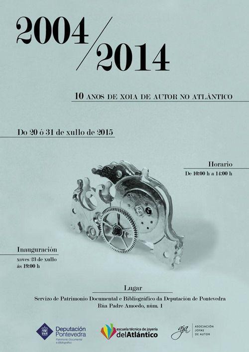 Expo 10 años joya autor atlantico