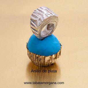 Tabata Morgana - Anillo de plata tronco