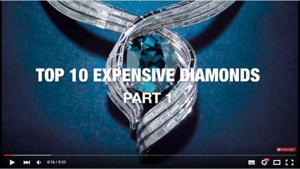 Top 10 expensive diamonds