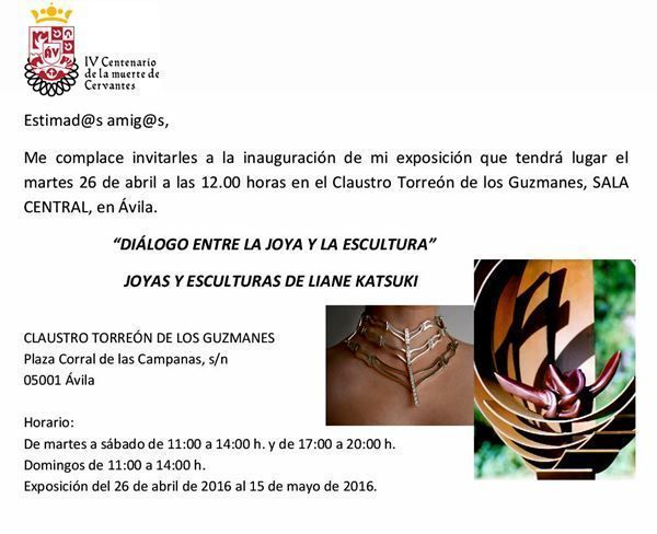 Liane Katsuki - Exposición Torreón de los Guzmanes