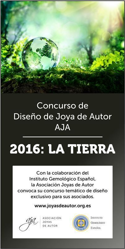 Concurso Diseño Joya de Autor 2016 AJA: La Tierra