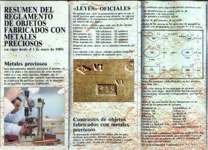 Tríptico resumen reglamento metales preciosos Valencia (interior)