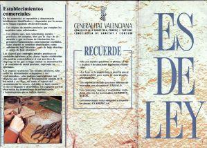 Tríptico resumen reglamento metales preciosos Valencia (exterior)