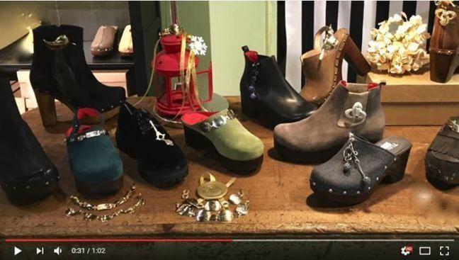 Charo Marin y Tuilus presentan sus zapatos joya