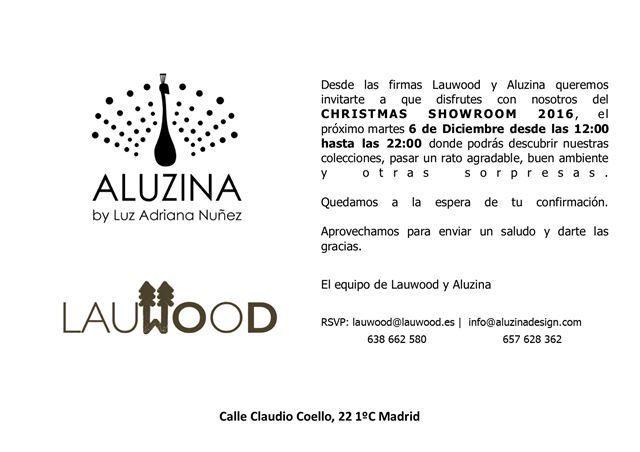 Aluzina y Lauwood presentan su Christmas Showroom 2016