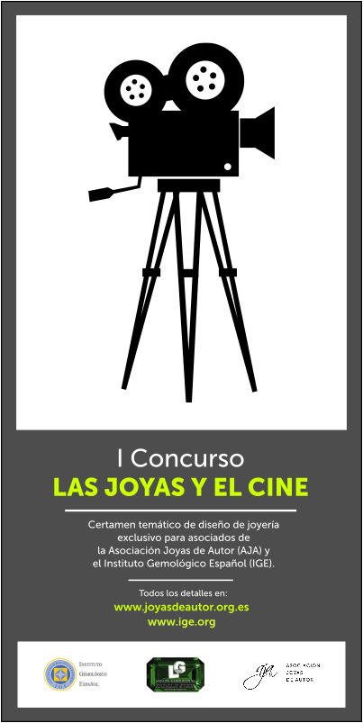 """I Concurso de diseño de joyería """"Las Joyas y el Cine"""""""