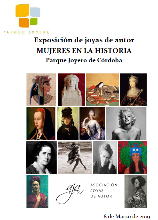 Mujeres en la Historia - Exposición en Museo Parque Joyero de Córdoba - Asociación Joyas de Autor