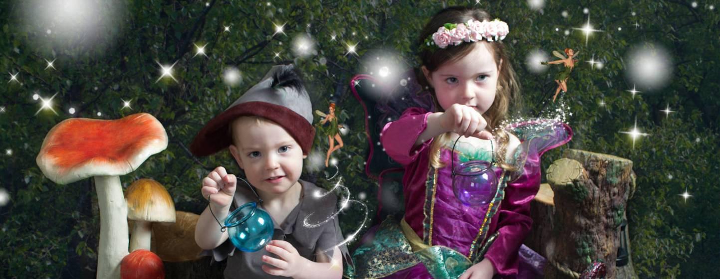 Ara and Harris meet the fairies