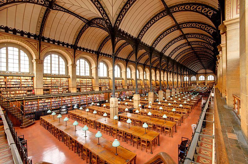 Image result for Sainte-Geneviève Library