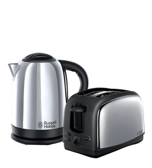 Russell Hobbs Lincoln Kettle & Toaster Pack 21830