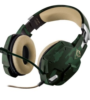 Trust GXT 322C Gaming Headset – Jungle Camouflage 20865