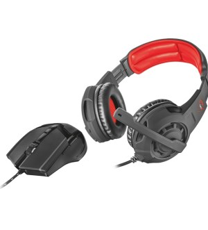 Trust GXT 784 Gaming Headset & Mouse Pack 21472