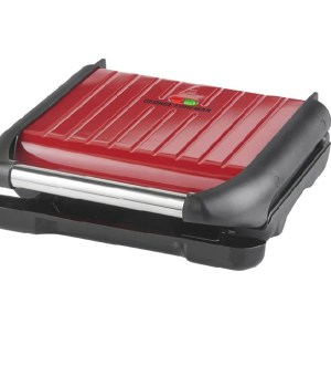 George Foreman 7 Portion Health Grill Red 25050