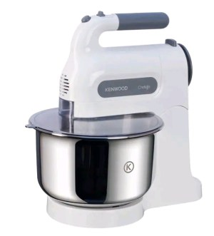 Kenwood Chefette Metal Bowl Hand Mixer HM680