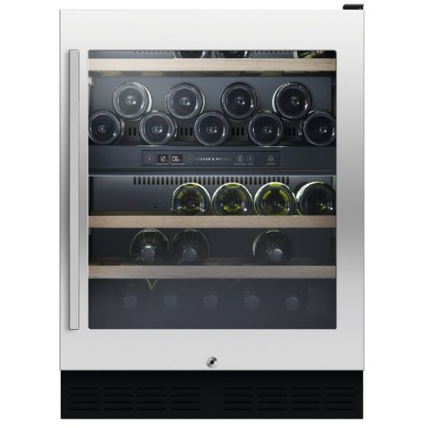 Fisher & Paykel Wine Cooler Cabinet Slide-In 38 Bottle Dual Zone RS60RDWX1