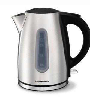 Morphy Richards Essential Polished Stainless Steel Jug kettle 980549