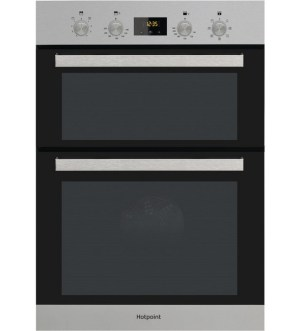 HOTPOINT BUILT IN DOUBLE OVEN ELECTRIC DKD3841IX