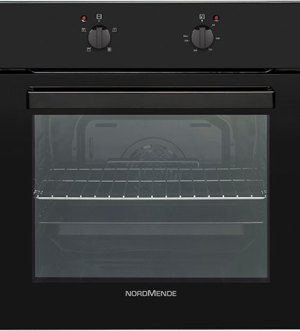 NordMende Single Fan Oven with Grill Black SO106BL