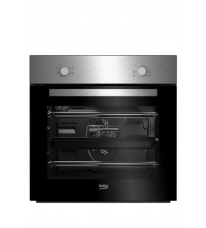 Beko Built-In Fan Oven & Ceramic Hob Package | BSF210SX