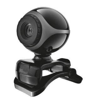 Trust Exis Webcam – Black/Silver T17003