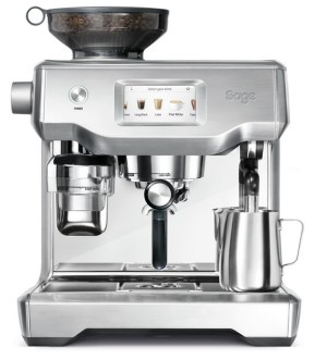 Sage Oracle Touch Coffee Machine Stainless Steel | SES990BSS2G1UK1