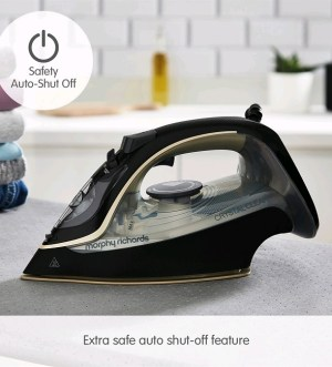 Morphy Richards Crystal Clear Gold Steam Iron 300302