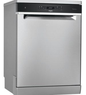 Whirlpool 6th Sense Dishwasher| Stainless Steel | WFO 3O41 PL X UK