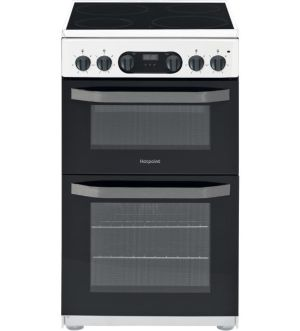 Hotpoint 50cm Electric Cooker   White   HD5V93CCW/UK
