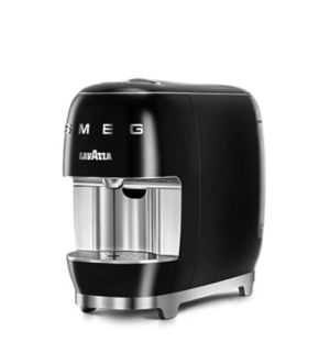 Lavazza Smeg Capsule Coffee Machine Black | 18000450