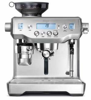 Sage The Oracle Coffee Machine | Brushed Stainless Steel | BES980UK