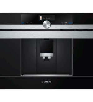 Siemens iQ700 Compact45 Built-in Coffee Centre Black & Steel | CT636LES6